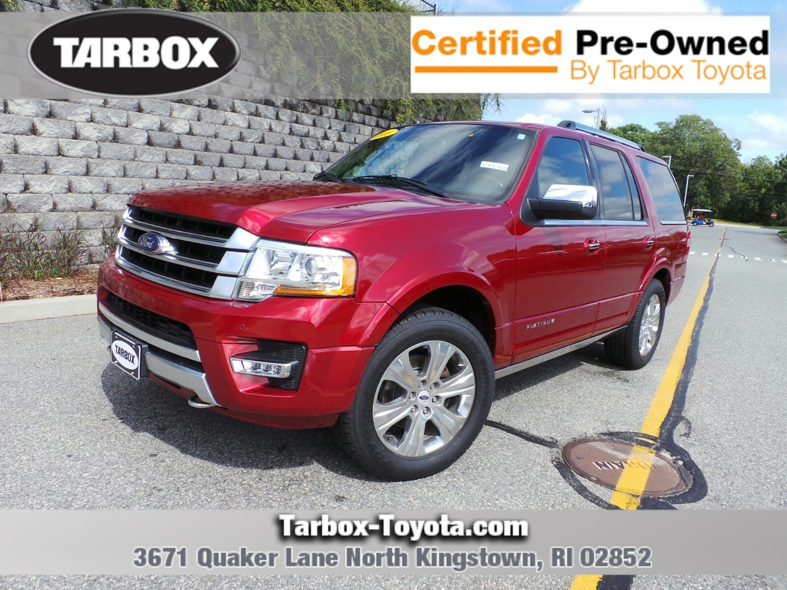 Pre owned 2015 ford expedition platinum