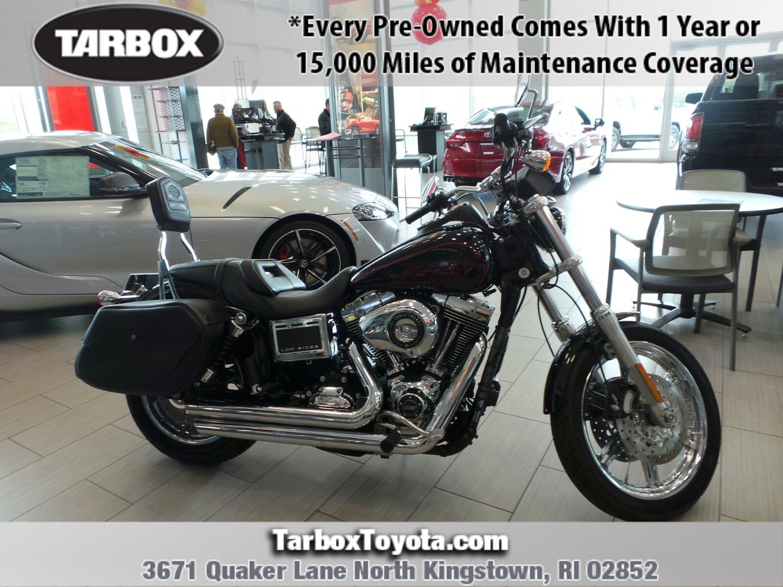 Pre-Owned 2014 Harley-Davidson Low Rider