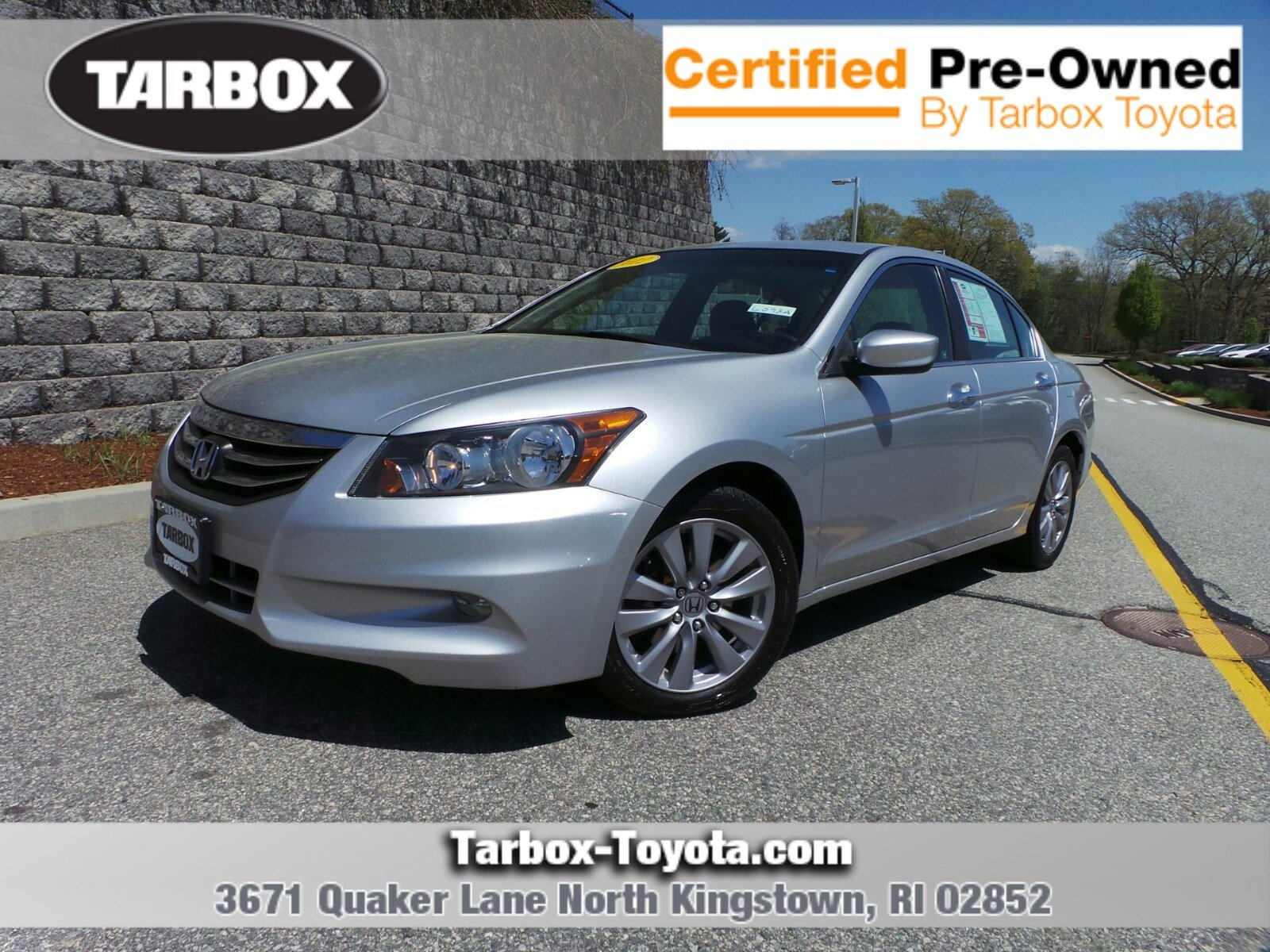 Pre Owned 2012 Honda Accord Sdn EX L