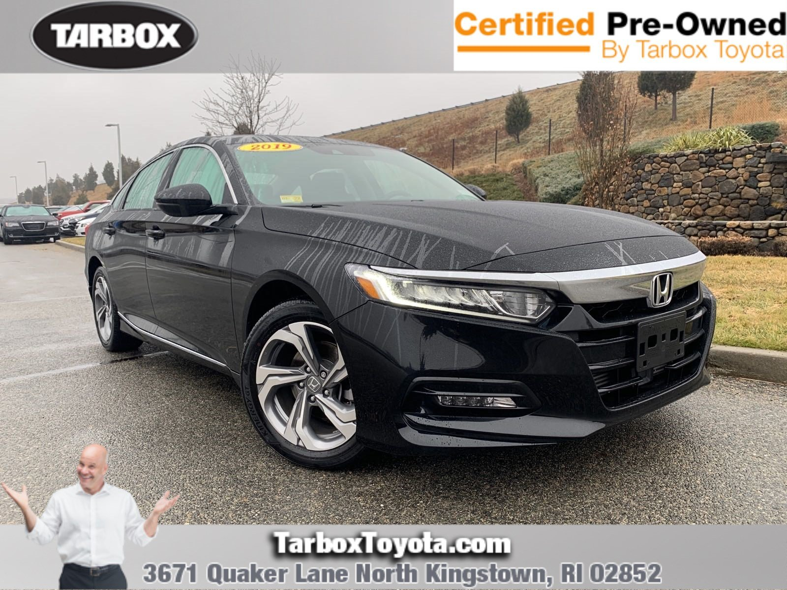 Pre-Owned 2019 Honda Accord Sedan EX-L