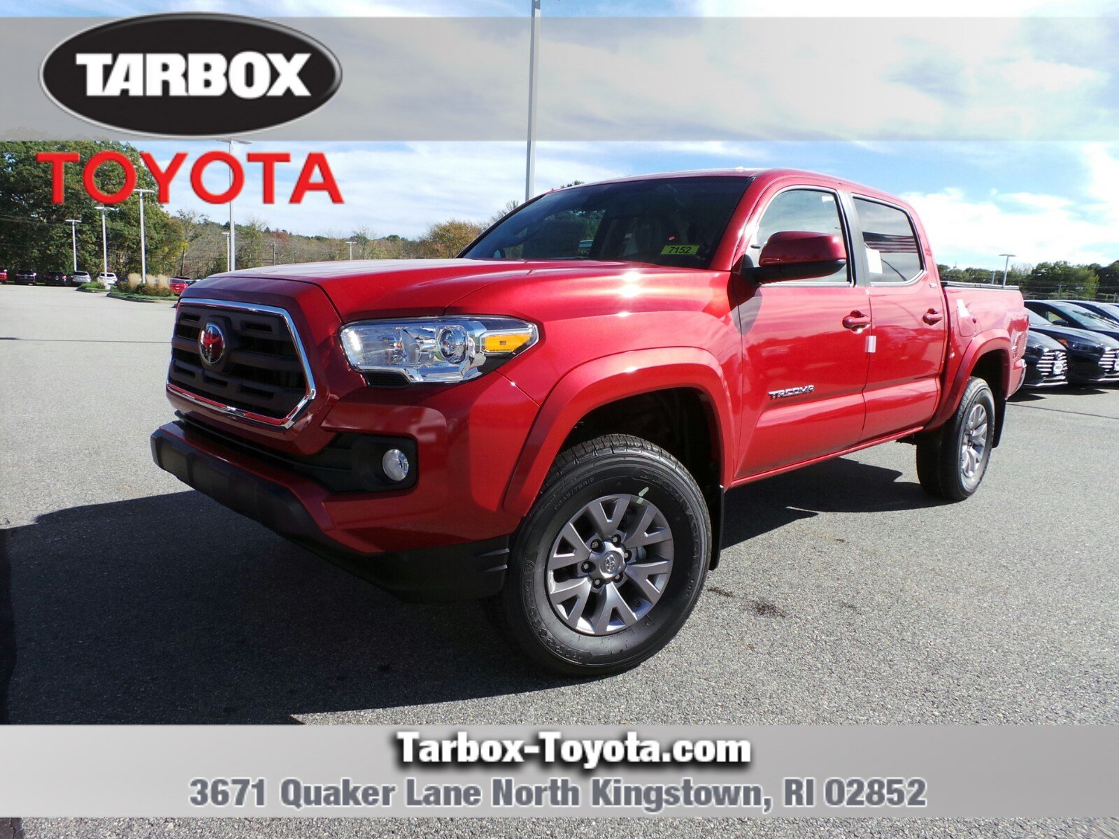 New 2019 Toyota Ta a SR5 Double Cab in North Kingstown 7152
