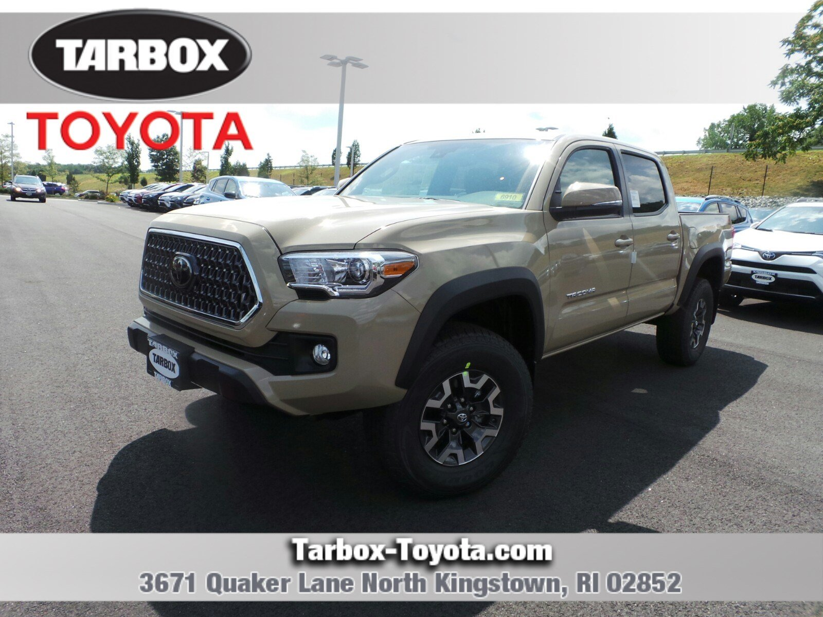 New 2018 Toyota Ta a TRD f Road