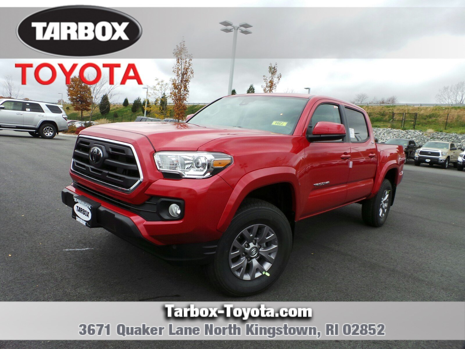 New 2019 Toyota Ta a SR5 Double Cab in North Kingstown 7294