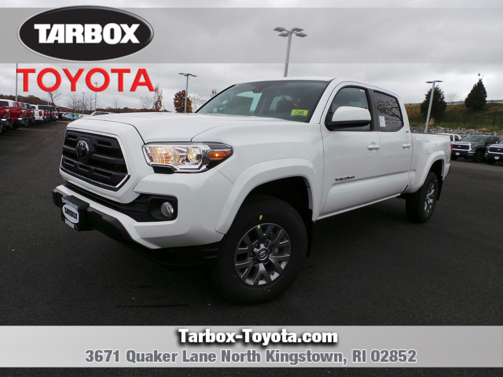 New 2019 Toyota Ta a SR5 Double Cab in North Kingstown 7340