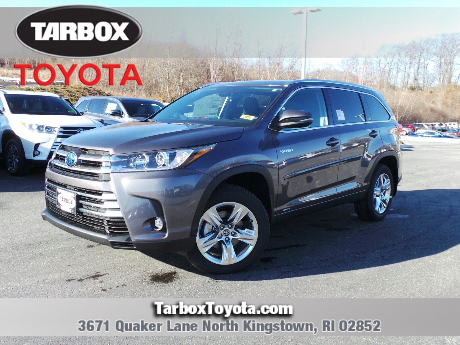 New 2019 Toyota Highlander For Sale In North Kingstown Ri Near