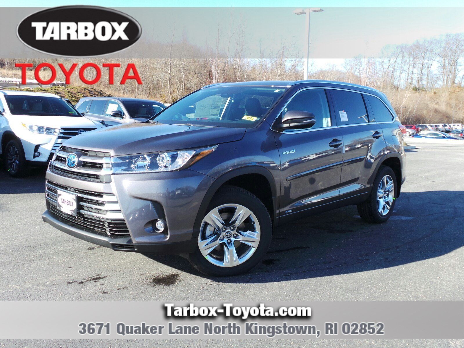 New 2019 Toyota Highlander Hybrid Limited Sport Utility In North