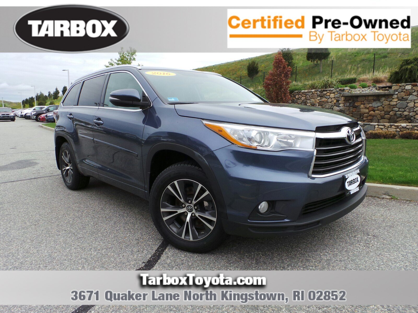 2016 Toyota Highlander For Sale >> Pre Owned 2016 Toyota Highlander For Sale In North Kingstown Ri Near