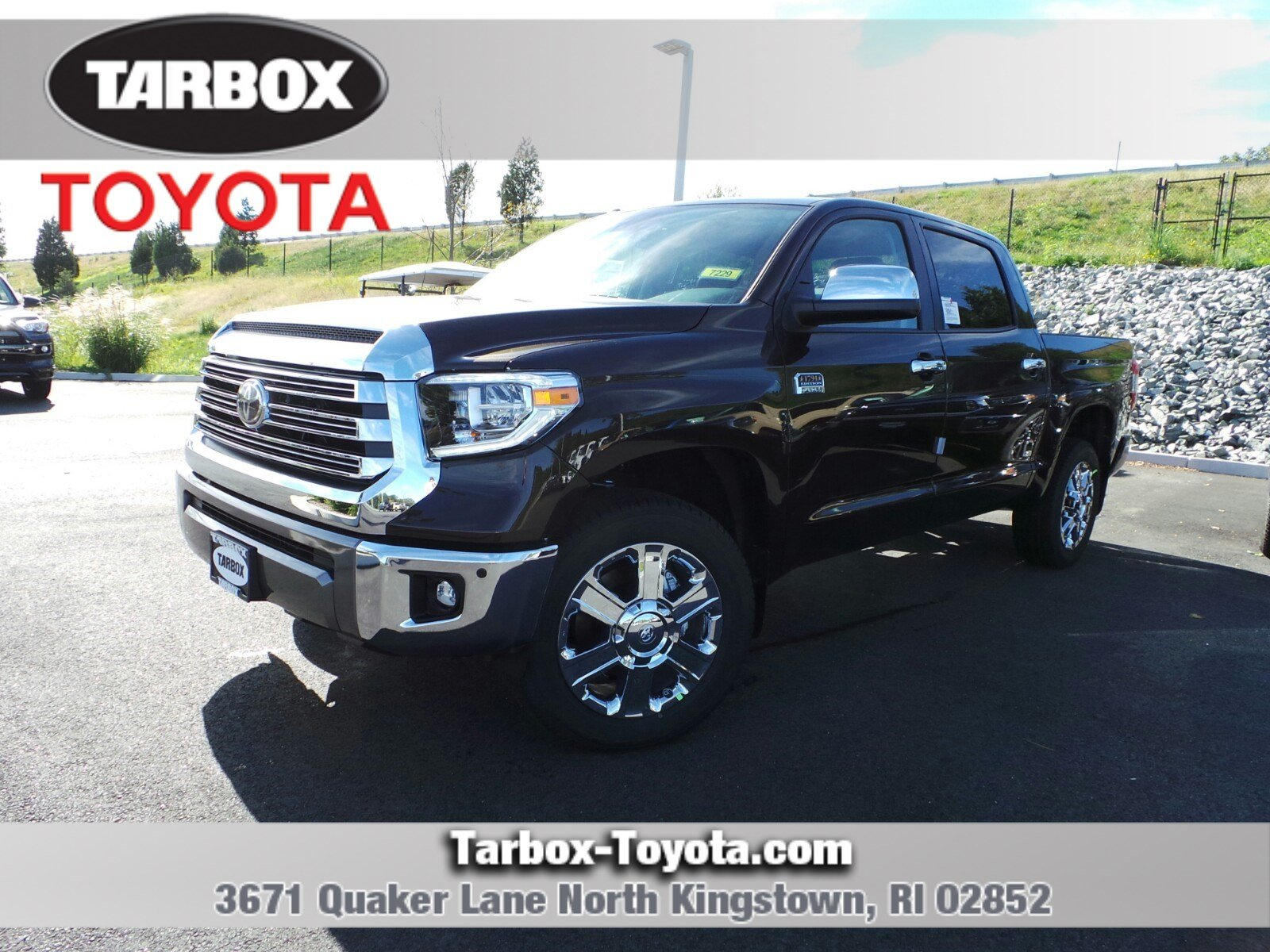 New 2019 Toyota Tundra 1794 Edition Crewmax In North Kingstown 7229 Sienna Rear Differential Support