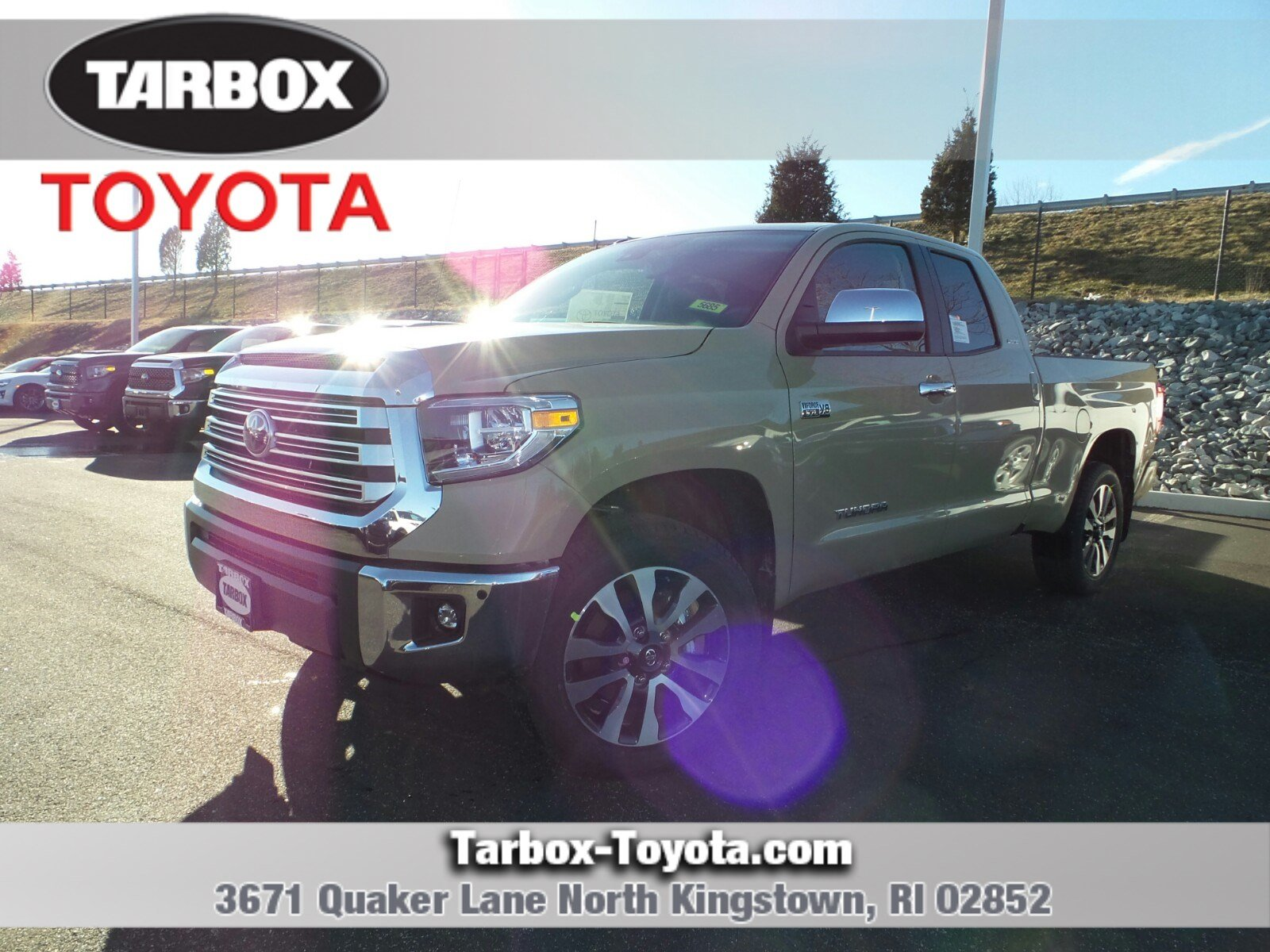2018 Toyota Tundra Double Cab >> New 2018 Toyota Tundra Limited Double Cab In North Kingstown 5685