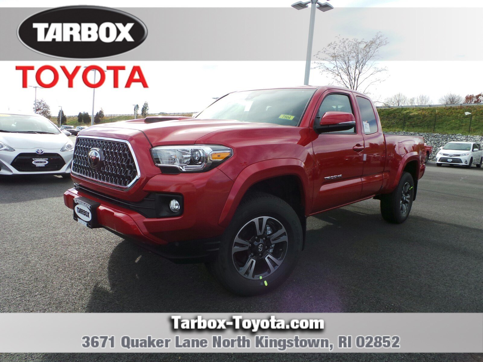 New 2019 Toyota Ta a TRD Sport Access Cab in North Kingstown 7504