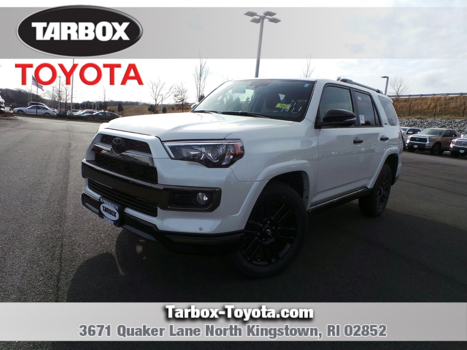 New 2019 Toyota 4runner Limited Nightshade Sport Utility In North