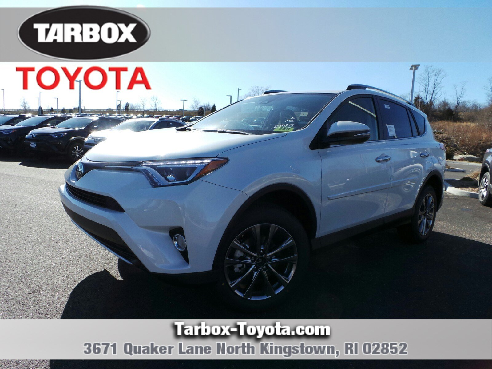 New 2018 Toyota RAV4 Limited Sport Utility in North Kingstown 5983